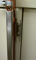 File Cabinet Lock Open