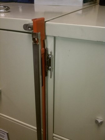 File Cabinet Lock Open